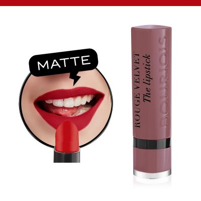 Rouge Velvet The Lipstick. 17 From Paris with Mauve