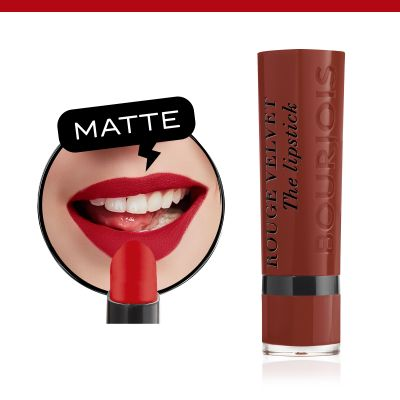 Rouge Velvet The Lipstick. 12 Brunette